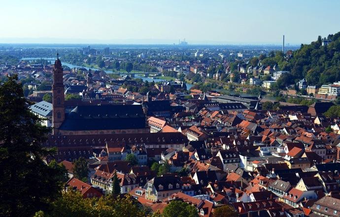 heidelberg 2016年ドイツ総選挙!ドイツのおすすめ観光地ベスト100決定!