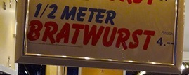 meterwurst2 ドイツのクリスマスマーケットは家族へのプレゼントを買う場所?