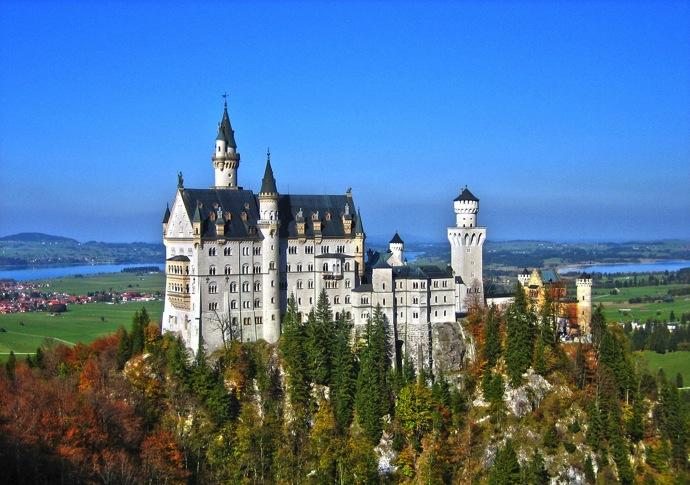 neuschwanstein castle 2016年ドイツ総選挙!ドイツのおすすめ観光地ベスト100決定!
