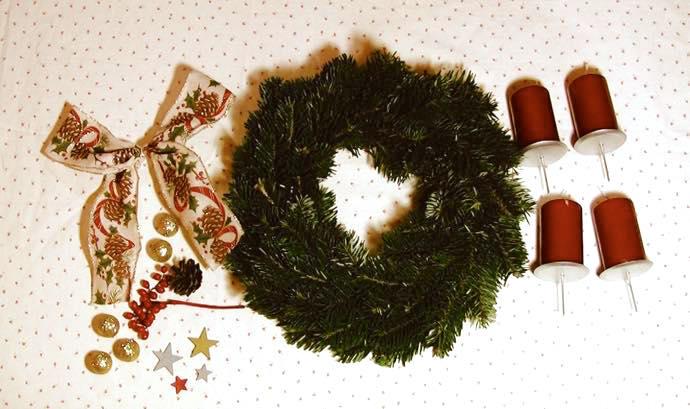 th 03 ドイツのクリスマスに必ず登場!アドベントクランツを作ってみた!