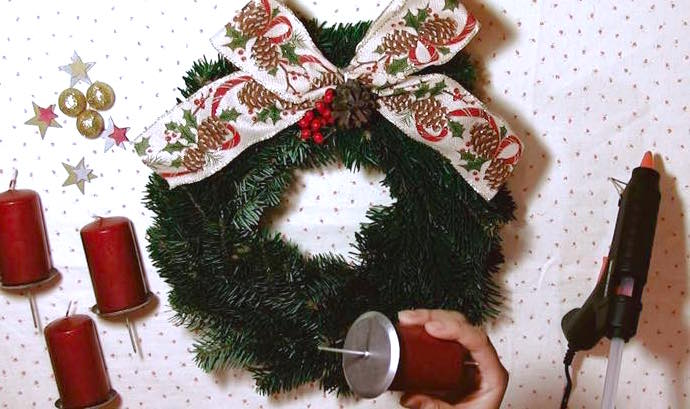 th 05 ドイツのクリスマスに必ず登場!アドベントクランツを作ってみた!