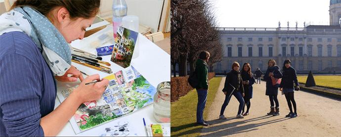 atelierHY lesson1 ドイツ美大受験から美術教室まで!アートを学ぶならベルリンのAtelierHY+がオススメ!