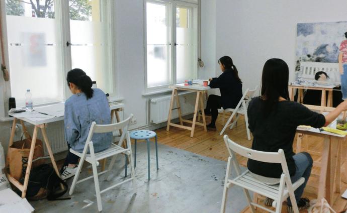 class ドイツ美大受験に美術教室!アートの勉強はベルリンAtelierHY+がオススメ!