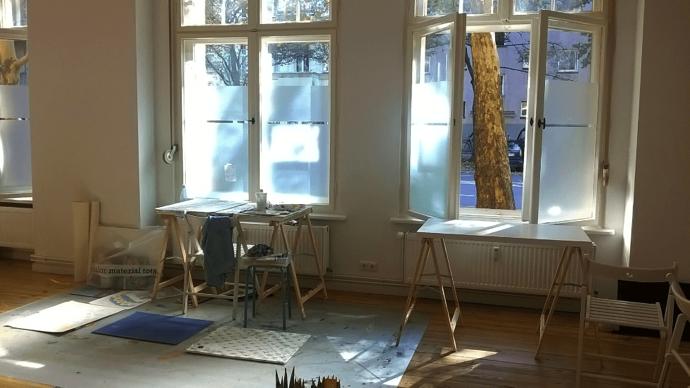 class room ドイツ美大受験のベルリン美術教室AtelierHY+とは?オンラインコース実施中
