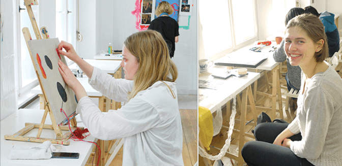 mappe lesson ドイツ美大受験に美術教室!アートの勉強はベルリンAtelierHY+がオススメ!