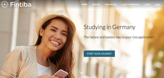 Fintiba website ドイツ学生ビザ取得に必須!閉鎖口座とは?3つの開設方法と残高証明書取得までの流れ