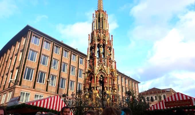 nurnbergerchristkindlesmarkt6 来場200万人!?世界が憧れるニュルンベルクのクリスマスマーケットどんな感じ?