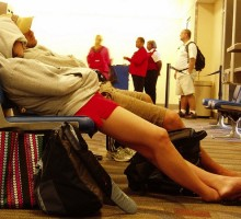 羽田に前乗り…もっとも快適に過ごす方法を発見!もうソファーでは寝ない!